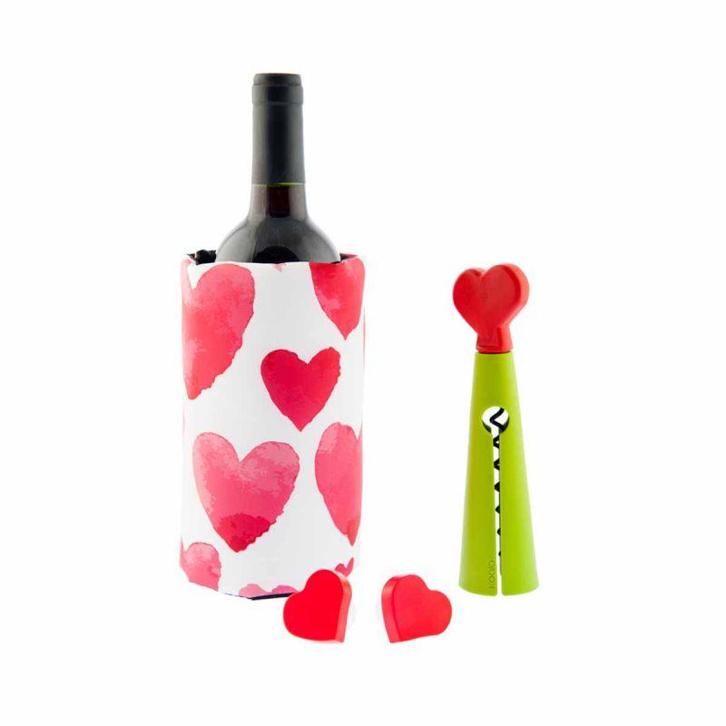 Kit Accessori vino - Love