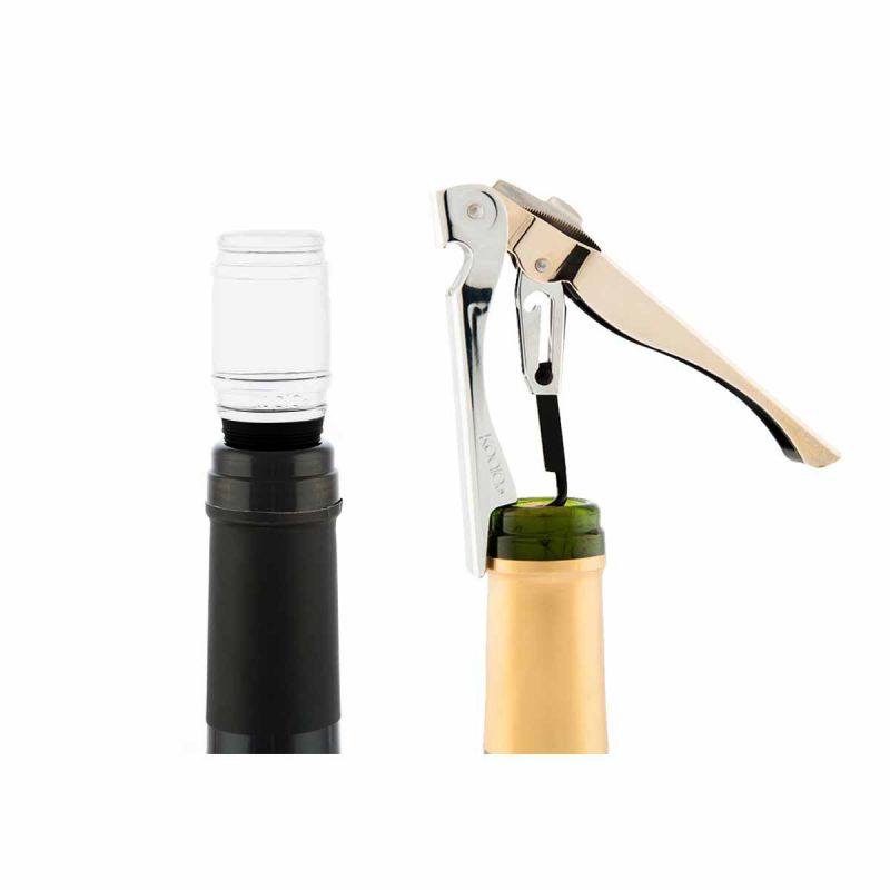 Set accessori vino - Set Bako Deluxe