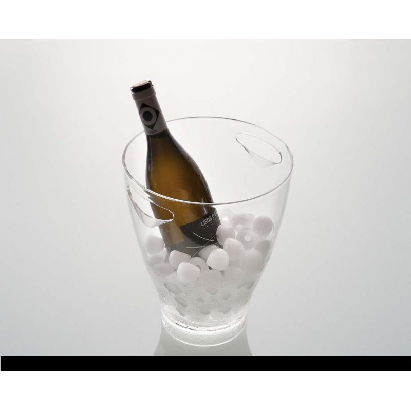 Secchiello porta ghiaccio vino VAR - trasparente - Made in Italy