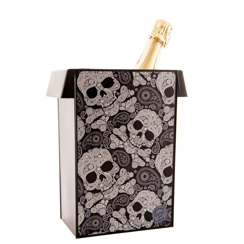 Secchiello ghiaccio vino Design - Skulls