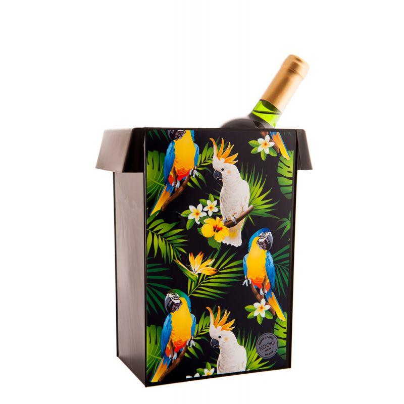 Porta ghiaccio vino Design - Parrots