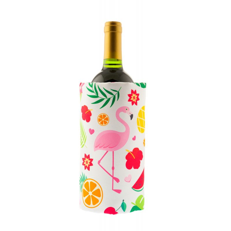 Fascia refrigerante vino - Full print - Flamingo