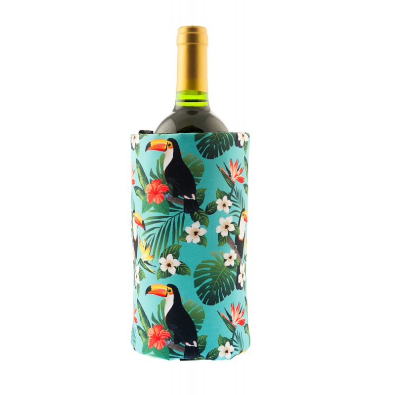Fascia refrigerante vino - Full print - Toucans