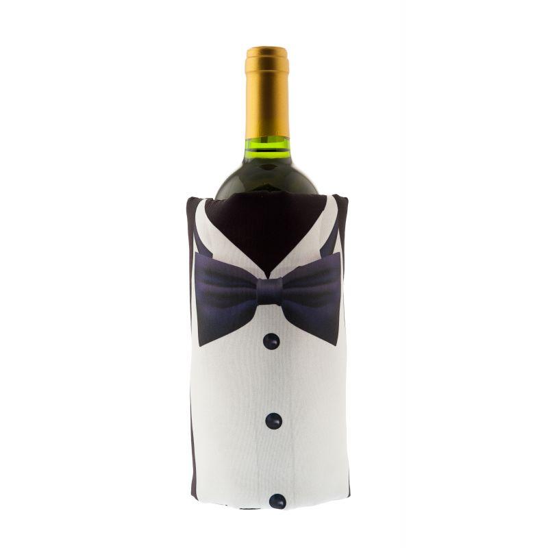 Fascia refrigerante vino - Full print - Black tie