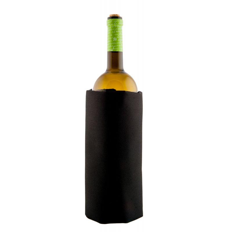 Fascia refrigerante per bottiglia magnum - nero