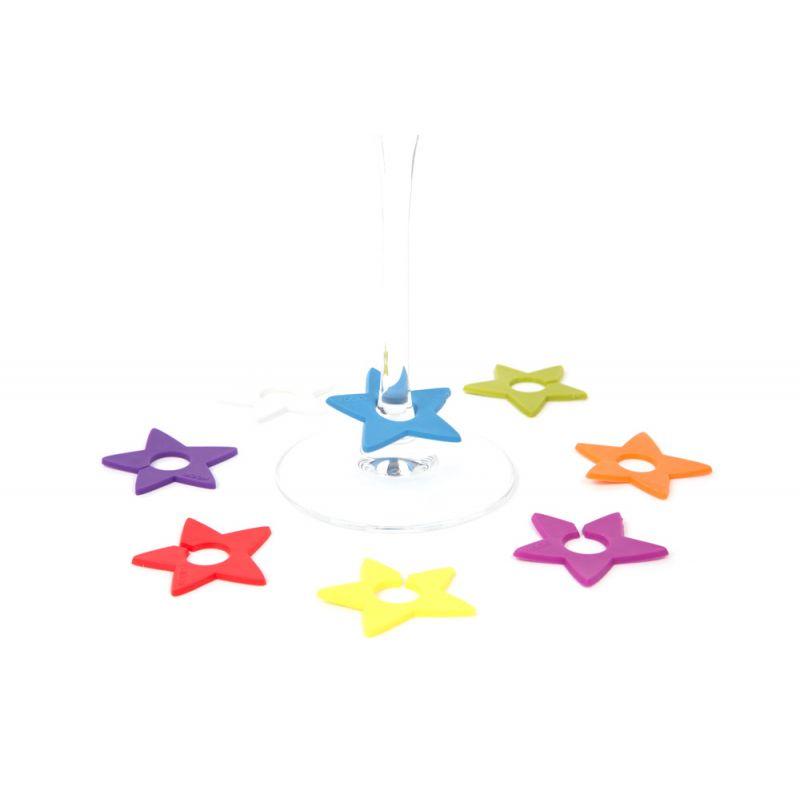 Segna calice in silicone - STAR