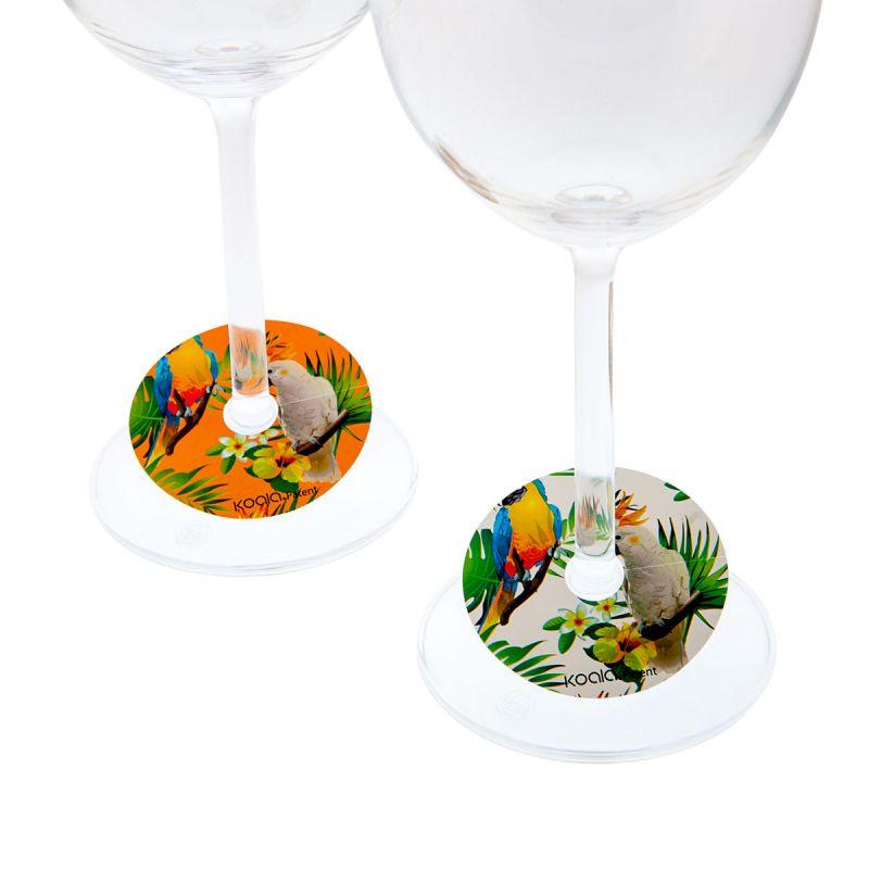 Segnacalice Parrots