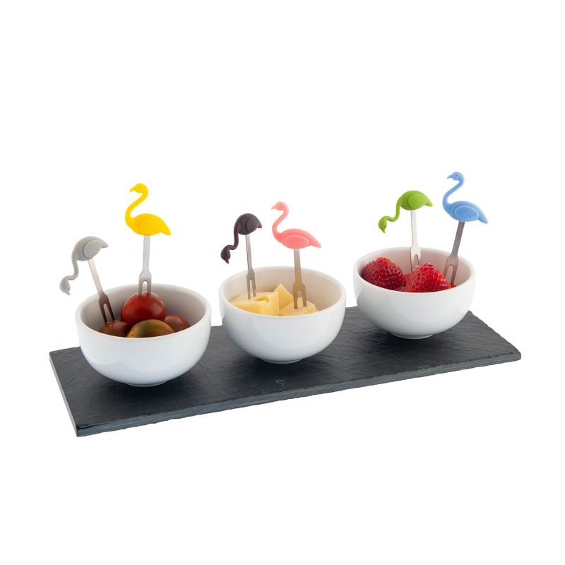 Party Picks 3D Silicone - Flamingos