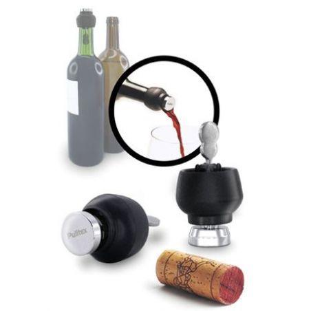 Saturn Pulltex - stopper vino + versatore vino