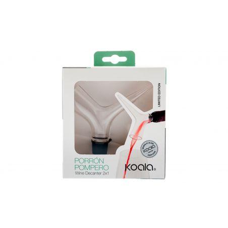 Porron Pompero Decanter Rapido packaging
