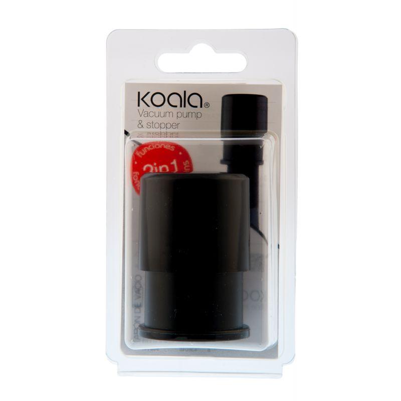 Vacuum Pump - Pomoa salva vino - nera - packaging