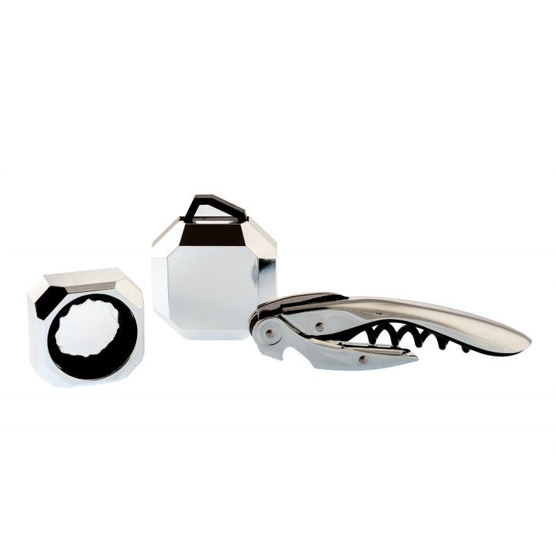 Set Wine Deluxe Silver - Set accessori vino