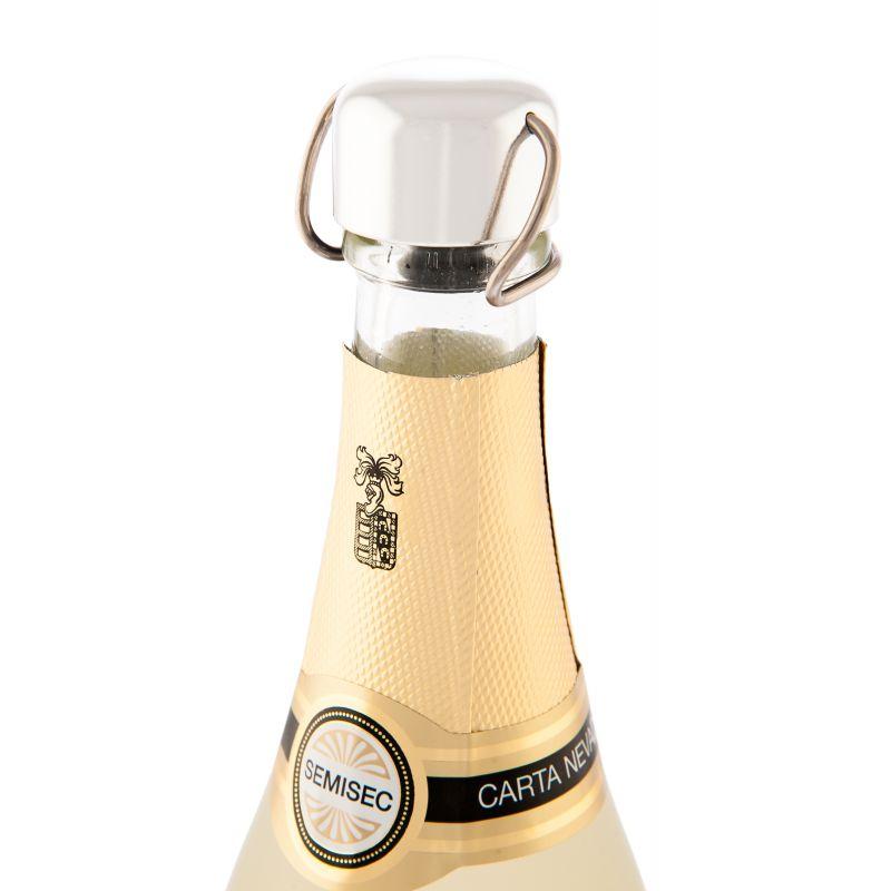 Brut Rose Stopper - Champagne stopper - Silver