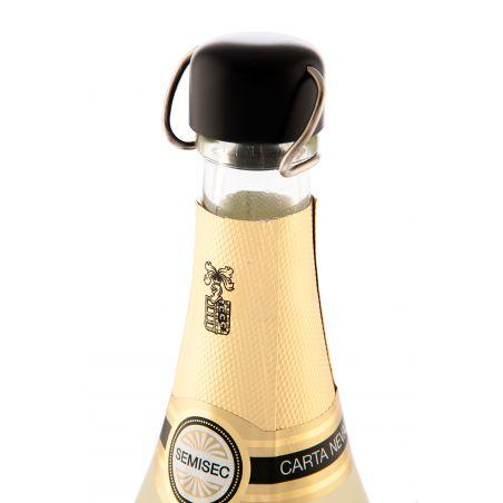 Brut Rose Stopper - Champagne Stopper - Nero