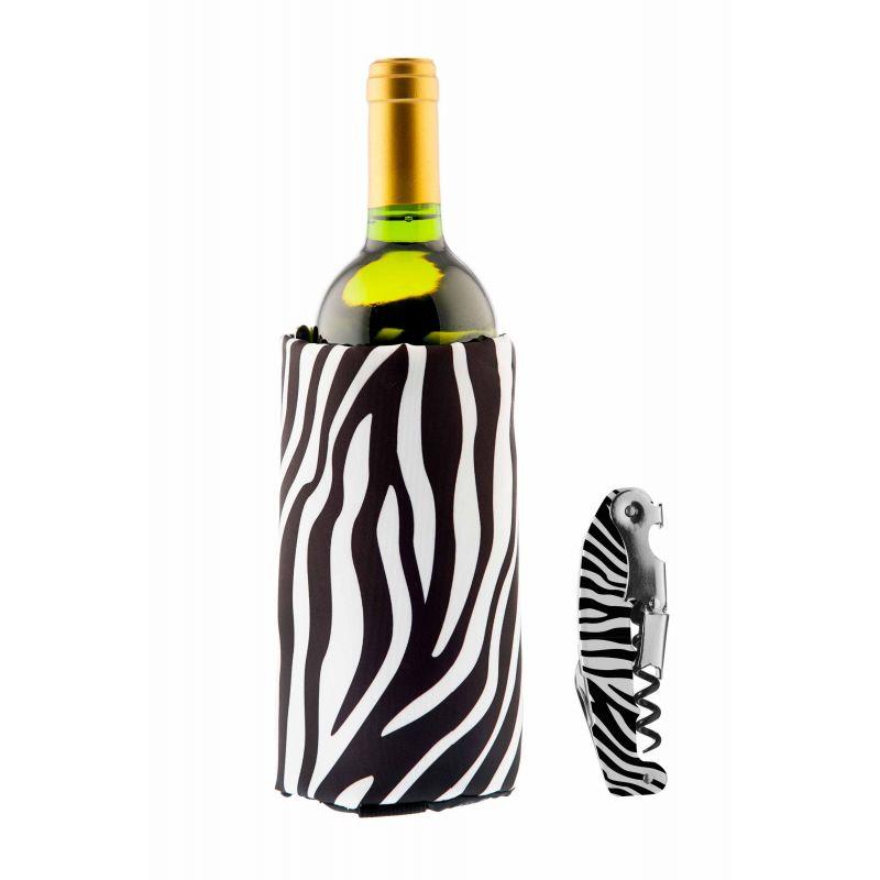 Set Full Print Zebra - Fascia Refrigerante + Cavatappi
