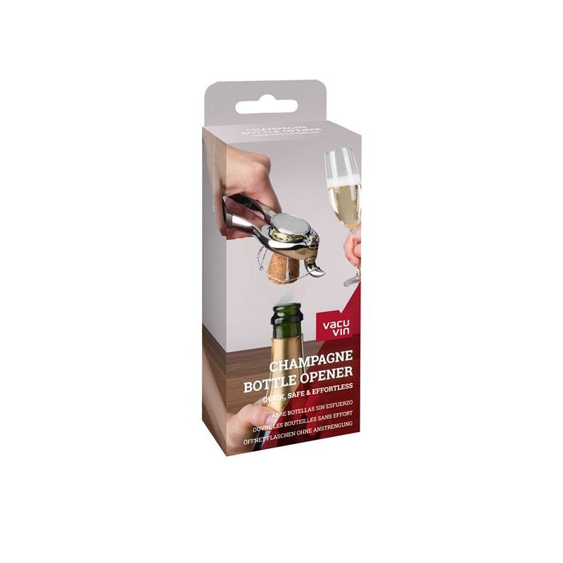 Champagne Bottle Opener Vacuvin - Packaging