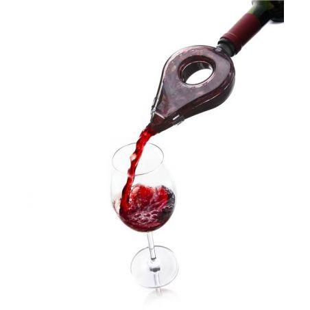 WINE AERATOR GREY VACU VIN • AERATORE DECANTER RAPIDO VINO