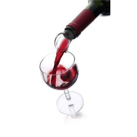 WINE SERVER CRYSTAL BLACK VACU VIN • VERSATORE VINO