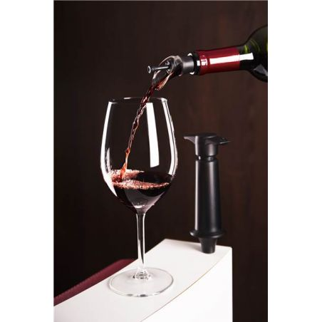 WINE SERVER & STOPPER VACU VIN - STOPPER VINO CON VERSATORE - LIVING