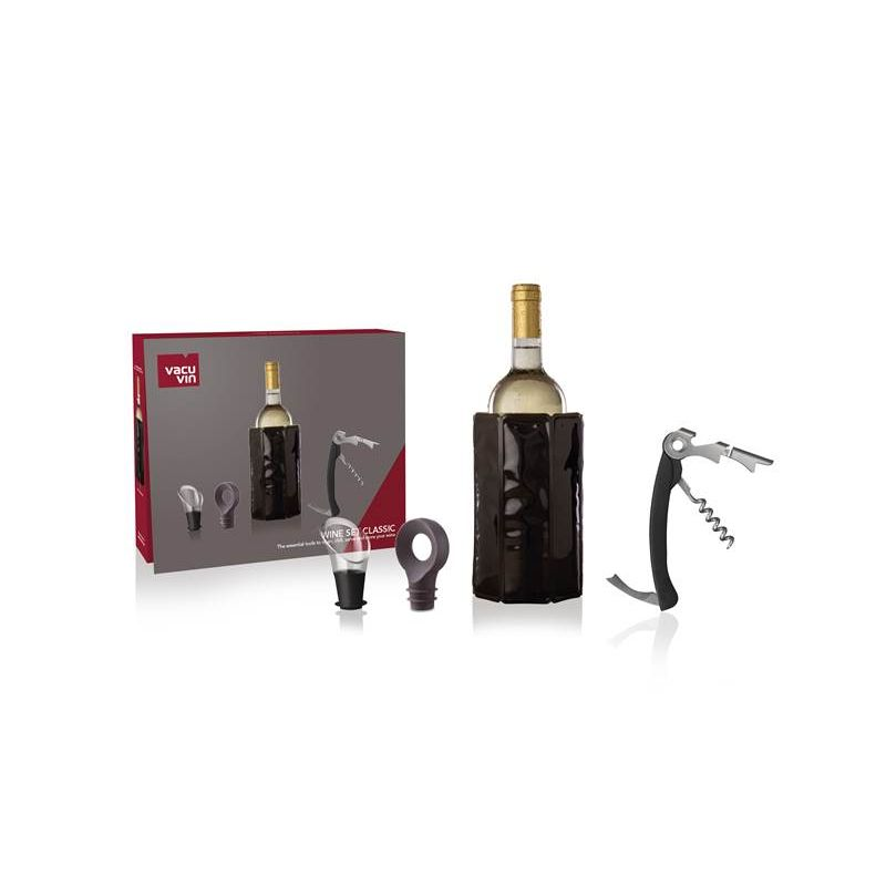 WINE SET CLASSIC VACU VIN - SET ACCESSORI VINO
