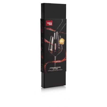 SLOW WINE POURER GIFT BOX VACU VIN  - VERSATORE VINO - PACKAGING - GIFT BOX