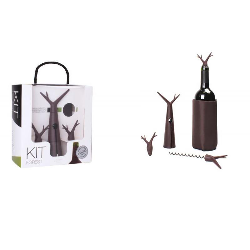 Set accessori vino - Kit forest chocolate