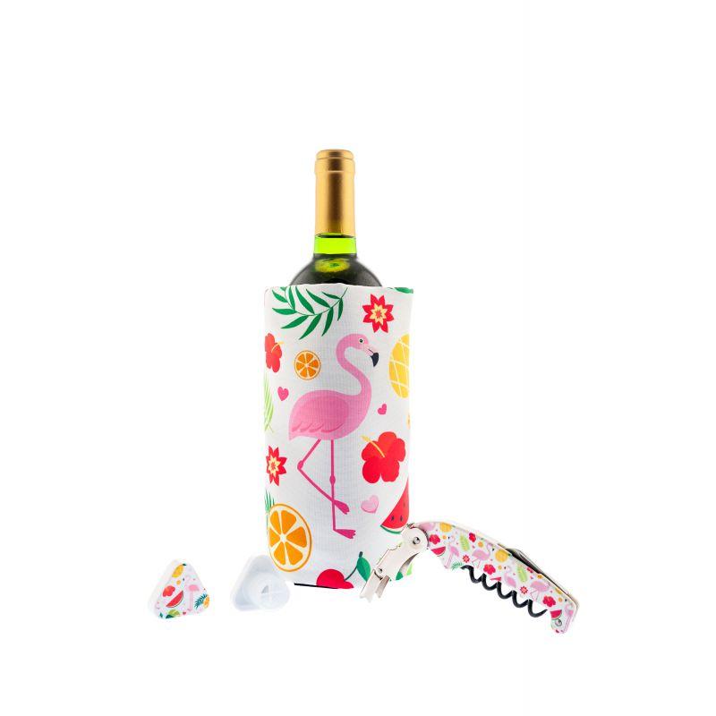 Kit Flamingo - Kit Accessori vino