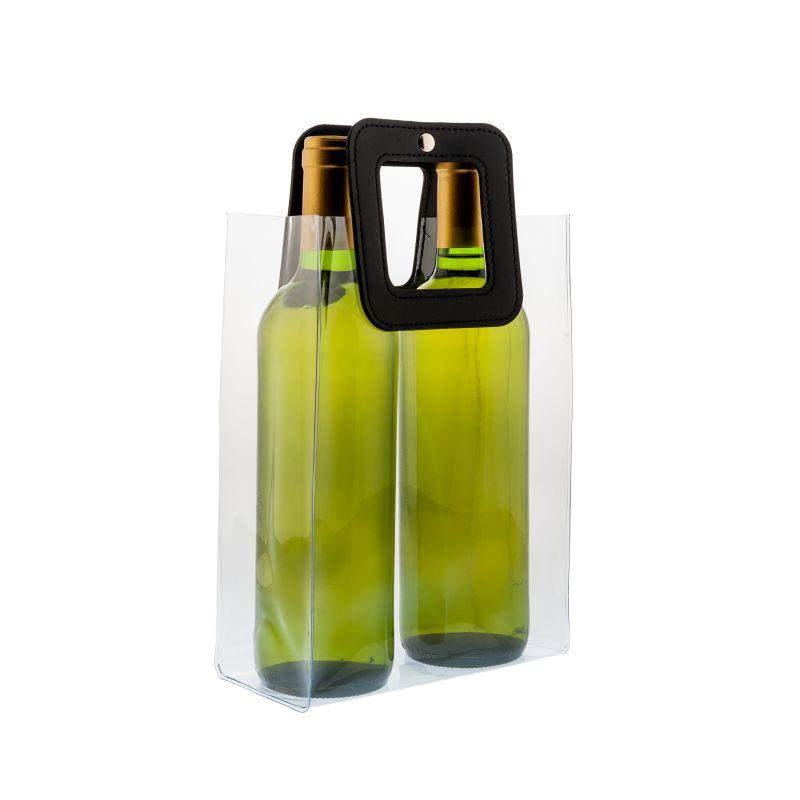 Nice Cooler Square - Ice bag vino - 2 bott.