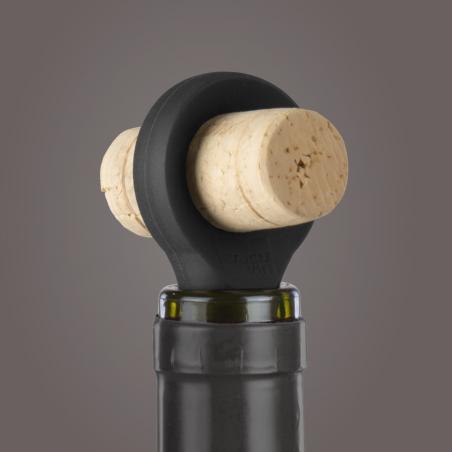 Bottle Stopper Black Vacu Vin - Dettaglio