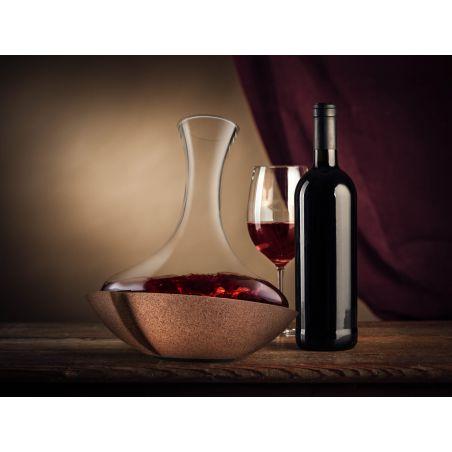 Swirling Carafe Vacu Vin - Decanter Vino Dettaglio 2