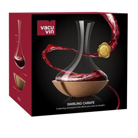 Swirling Carafe Vacu Vin - Decanter Vino Packaging