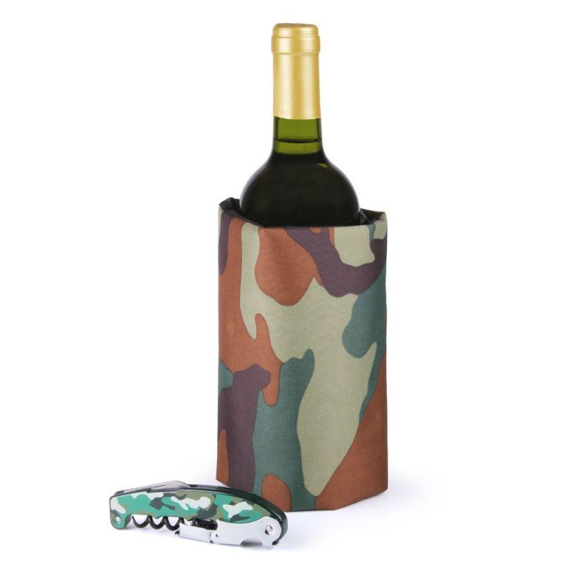 Set accessori vino - Set Camouflage