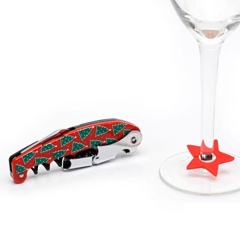 Set accessori vino - Set Christmas