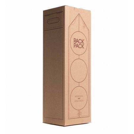 Rackpack Cassetta vino Design - Espositore - packaging