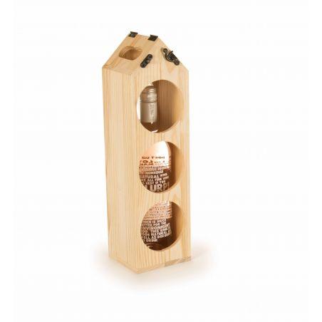 Rackpack Cassetta vino Design - Espositore
