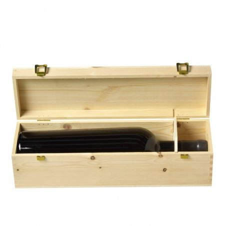 Cassetta vino in legno Magnum 1,5 lt