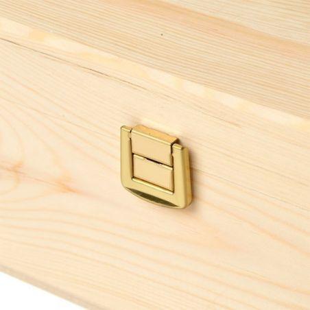 Cassetta vino Magnum 1,5 - dettaglio cerniera
